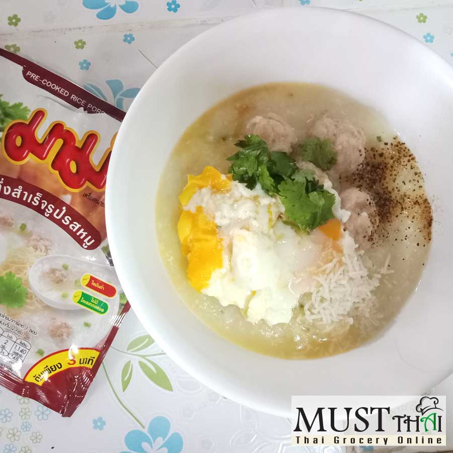 Jok Instant Porridge Pork Flavour – Mama (50g)