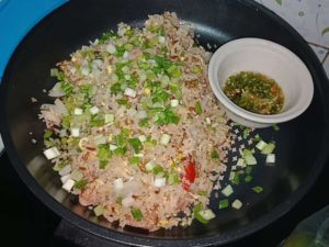 Fried rice with naem by team Thai grocery online