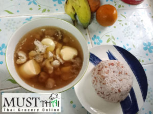 Mixed fried soup by team Thai grocery online