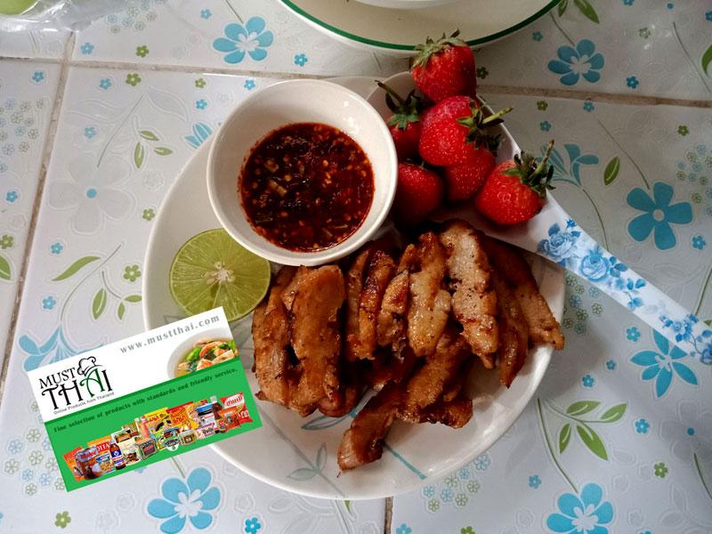 Thai Jaew chili dipping