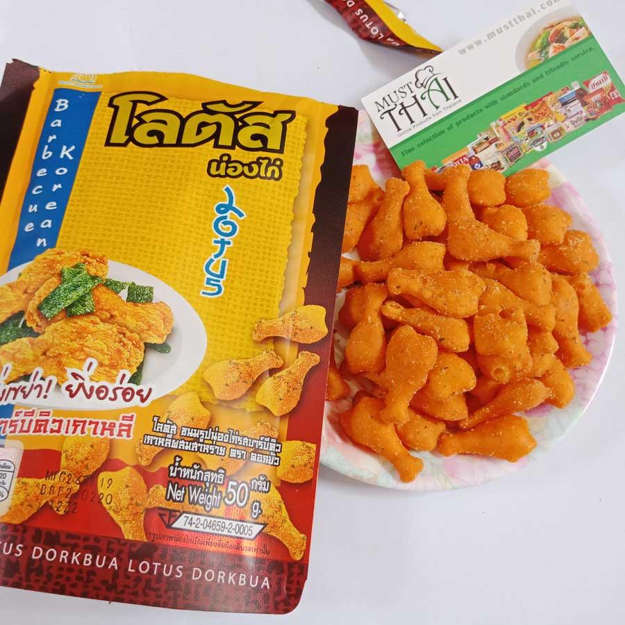 Dorkbua Biscuit Stick Fried Chicken Barbecue Korean Flavour