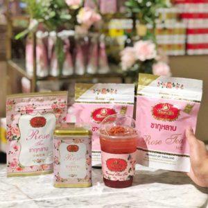 ChaTraMue Rose Tea with oolong Tea Powder