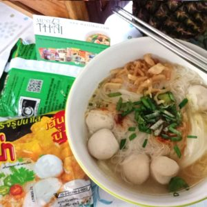 Mama Clear Soup Instant Rice Vermicelli