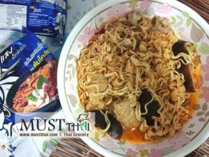 Wai Wai Quick Zabb Tom Klong Flavour Instant Noodles