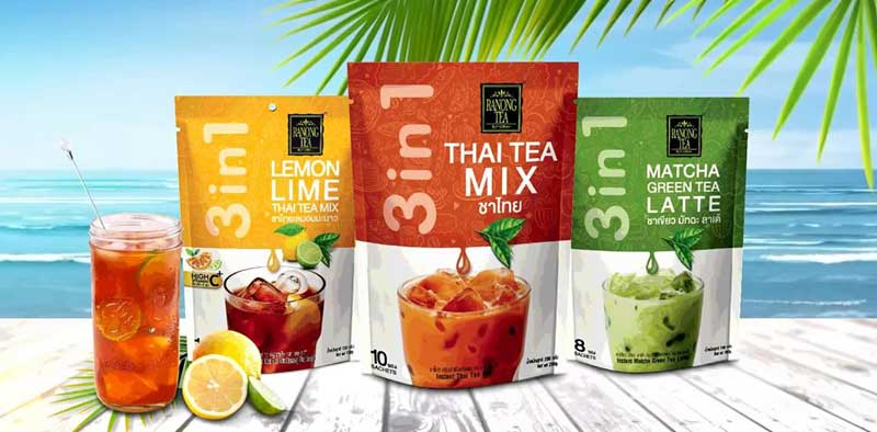 Ranong Tea 3in1 Thai Milk Tea