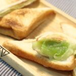 Lobo Cheesy Pandan Custard Sandwich