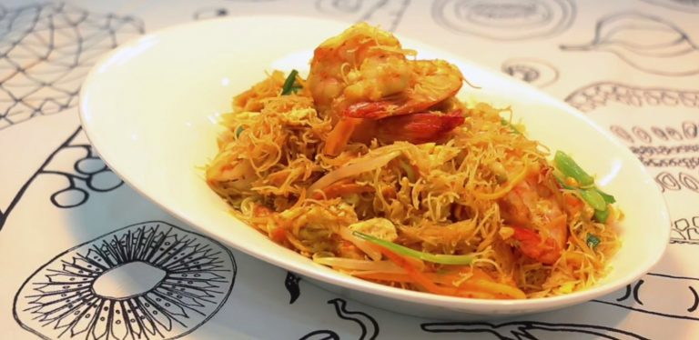 Yellow Curry Stir-Fried noodles