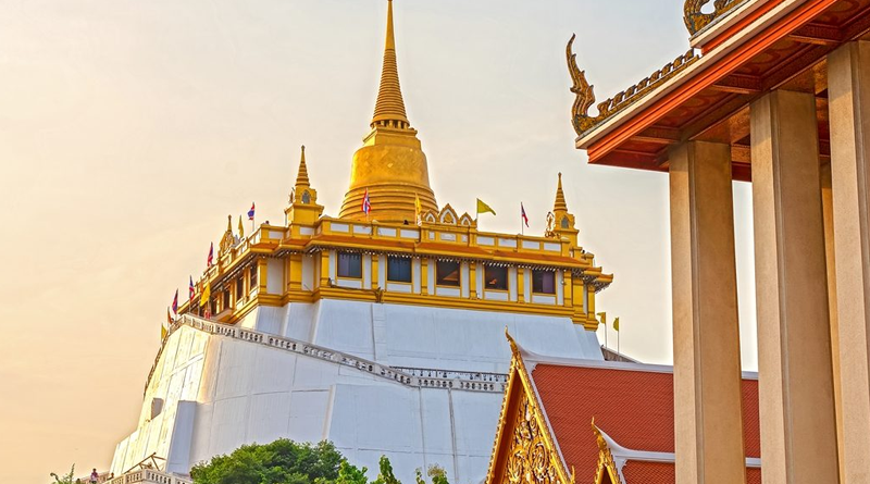 Wat Saket Ratcha Wora Maha Wihan (Golden Mountain)