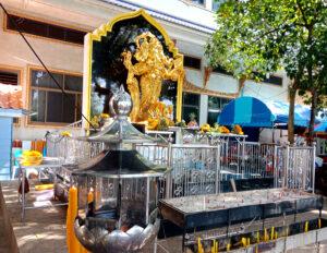 Thai Ganesha Statue inside Wat Pariwas