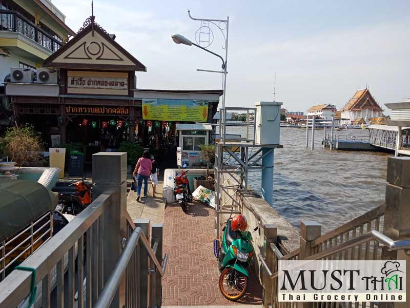 Yodpiman Pier, Bangkok River