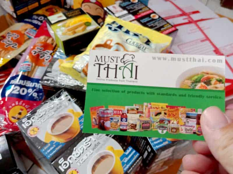 MustThai, Thai grocery online