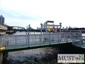 Yodpiman Pier, Bangkok River, located behind Pak Khlong Talat,