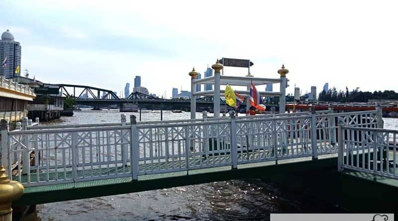 Yodpiman Pier, Bangkok River, located behind Pak Khlong Talat,